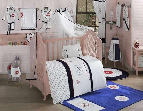 Комплект постельного белья из 3 предметов серия Blue OceanДетское постельное белье<br>Комплект постельного белья из 3 предметов серия Blue Ocean<br>