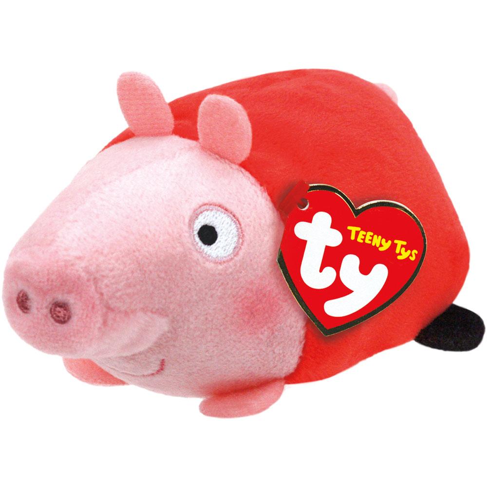 Мягкая игрушка Teeny Tys - Свинка Пеппа, 11 смЖивотные<br>Мягкая игрушка Teeny Tys - Свинка Пеппа, 11 см<br>