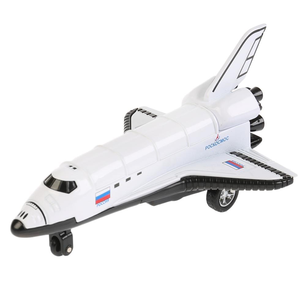 Купить Инерционная металлическая модель - Космический шаттл, 12 см, Технопарк