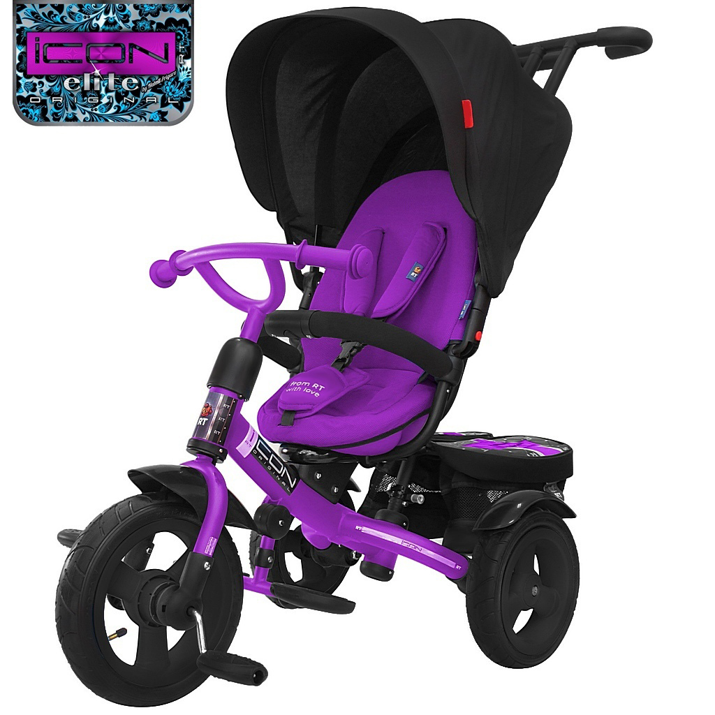 Велосипед RT ICON elite NEW Stroller by Natali Prigaro CrystalВелосипеды детские<br>Велосипед RT ICON elite NEW Stroller by Natali Prigaro Crystal<br>