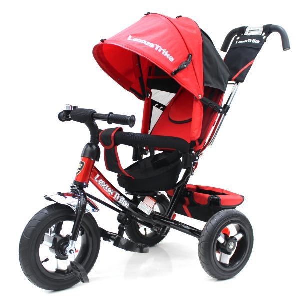 Трехколесный велосипед - Lexus Trike, колеса 12 и 10, красныйВелосипеды детские<br>Трехколесный велосипед - Lexus Trike, колеса 12 и 10, красный<br>
