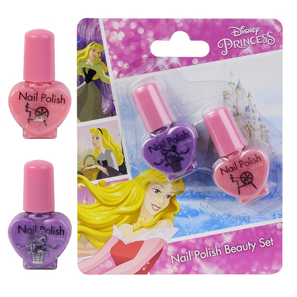 Игровой набор детской декоративной косметики для ногтей из серии PrincessЮная модница, салон красоты<br>Игровой набор детской декоративной косметики для ногтей из серии Princess<br>