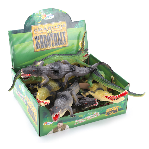 Фигурка крокодила