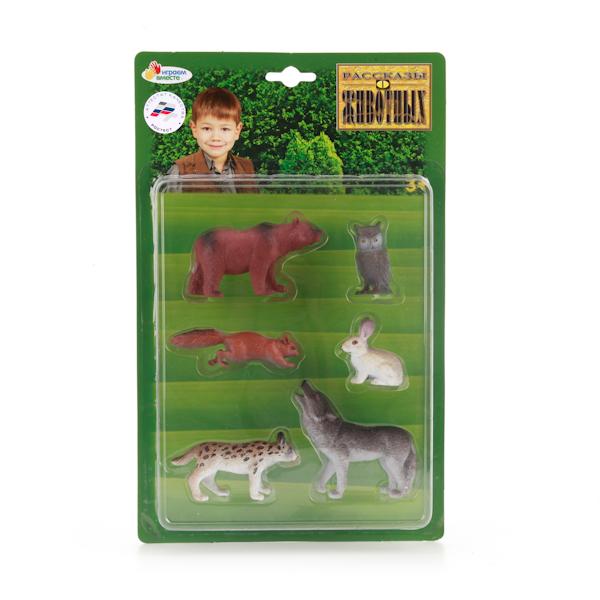 Набор из 6-и фигурок животных Средней полосыЛесная жизнь (Woodland)<br>Набор из 6-и фигурок животных Средней полосы<br>