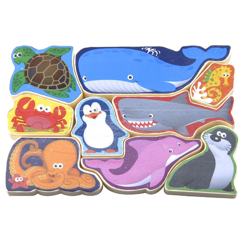 Пазл-головоломка - Морские животные