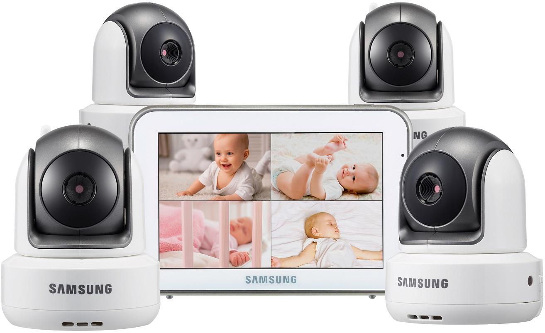 Купить Видеоняня с 4-мя камерами Samsung SEW-3043WPX4