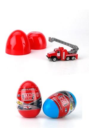 Металлическая машина - Спецтранспорт 7,5 см. в яйцеГородская техника<br>Металлическая машина - Спецтранспорт 7,5 см. в яйце<br>