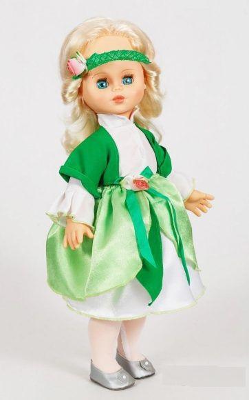 Кукла Оля - Фея Свежей Зелени, звукРусские куклы фабрики Весна<br>Кукла Оля - Фея Свежей Зелени, звук<br>