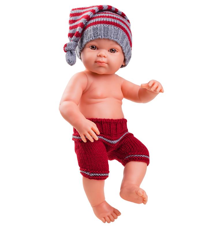Кукла Бэби, 32 см - девочкаИспанские куклы Paola Reina (Паола Рейна)<br>Кукла Бэби, 32 см - девочка<br>