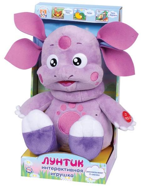 Интерактивная игрушка – Лунтик. 3 сказки по цене 2 152