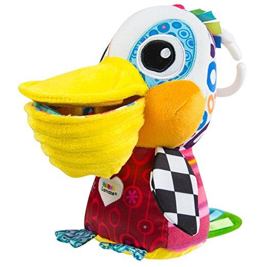 Подвесная игрушка - Пеликанчик ФилиппРазвивающая дуга. Игрушки на коляску и кроватку<br>Подвесная игрушка - Пеликанчик Филипп<br>