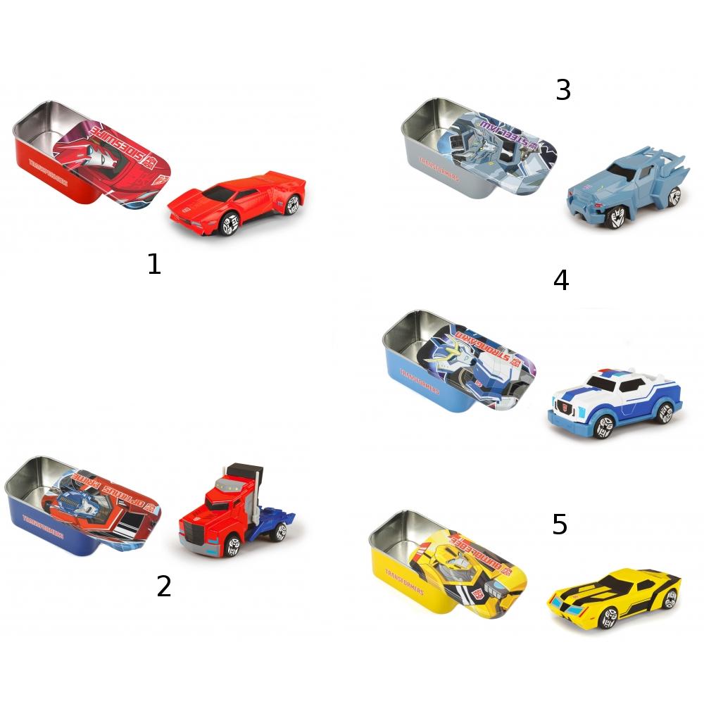 Машинка трансформер - Die-Cast, 7 см и коробка, 5 видовИгрушки трансформеры<br>Машинка трансформер - Die-Cast, 7 см и коробка, 5 видов<br>