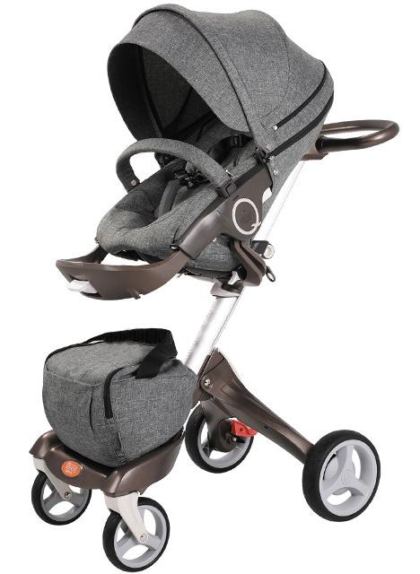 Детская коляска Nuovita Sogno - 2 в 1 - Denim / Джинсовая