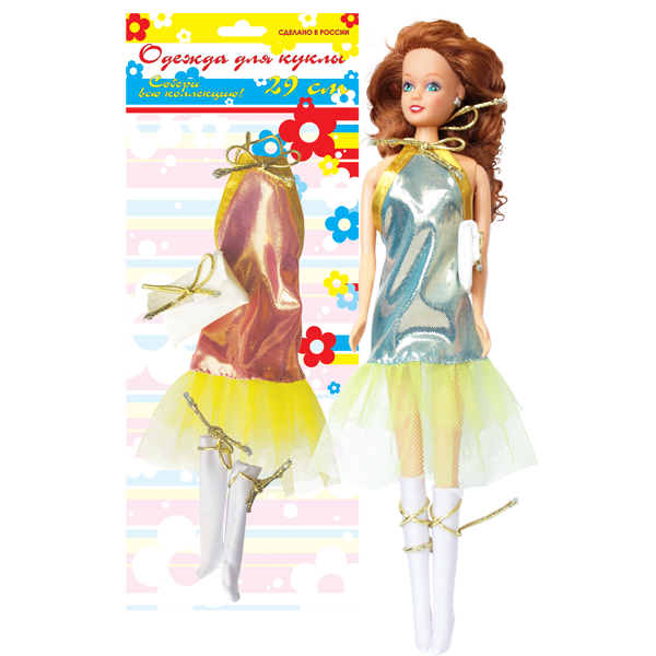 Платье ДискоОдежда для кукол<br>Платье Диско<br>