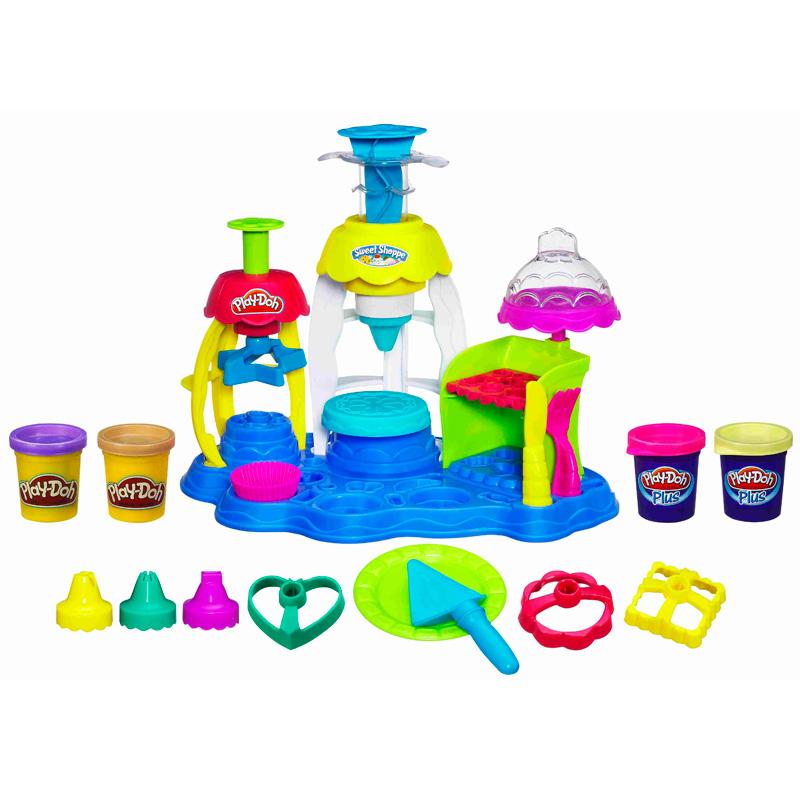 Play Doh. Пластилин Фабрика пирожных - Пластилин Play-Doh, артикул: 27815
