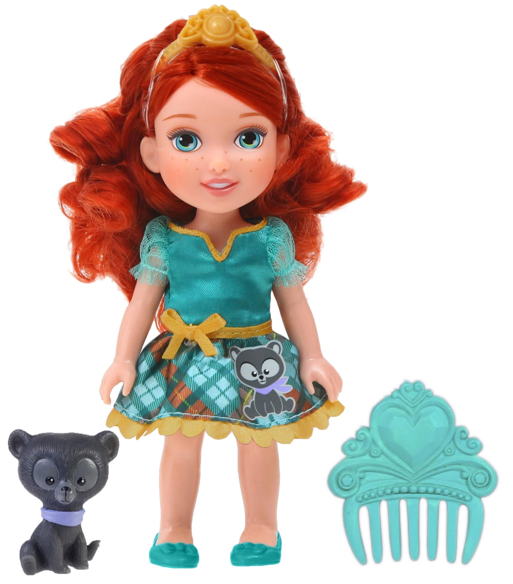 Кукла из серии Принцессы Дисней - Малышка Мерида с питомцем 15 см.Мерида<br>Кукла из серии Принцессы Дисней - Малышка Мерида с питомцем 15 см.<br>