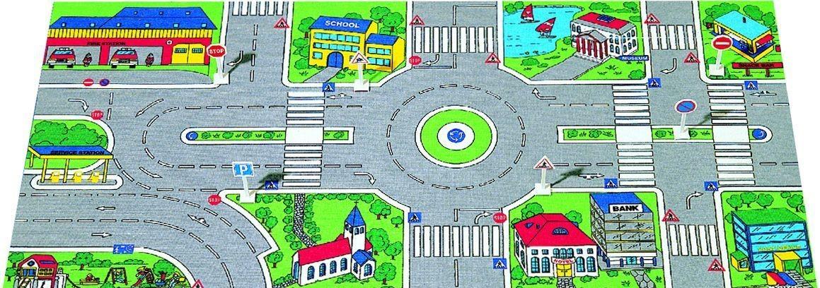 Игровой коврикДетские парковки и гаражи<br>Игровой коврик<br>