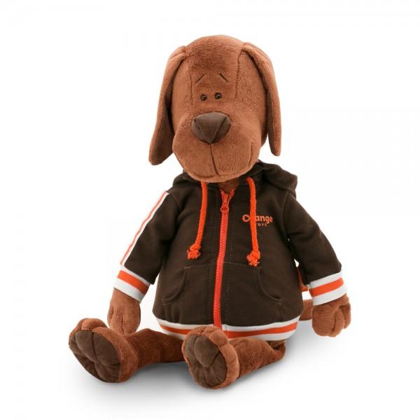 Мягкая игрушка из серии Life - Пёс Барбоська в толстовке, 30 см.Собаки<br>Мягкая игрушка из серии Life - Пёс Барбоська в толстовке, 30 см.<br>