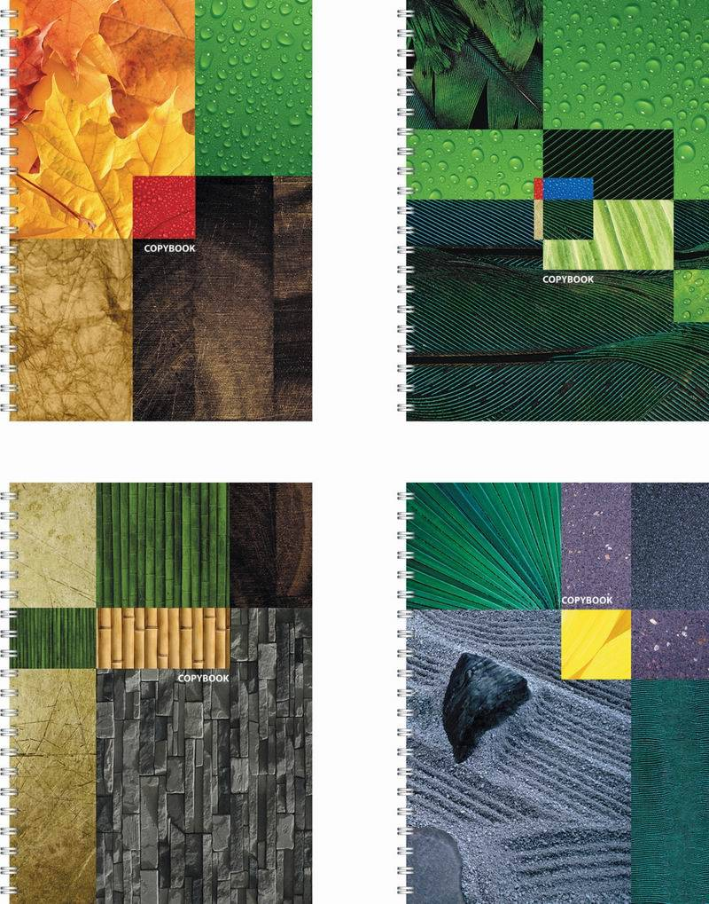 Тетрадь 120 листов Клетка «Eco-Texture»Тетради<br>Тетрадь 120 листов Клетка «Eco-Texture»<br>