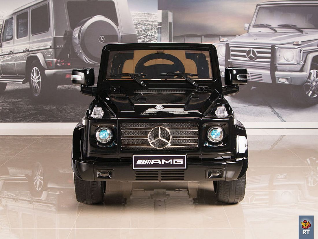 Электромобиль DMD-G55 Mercedes-Benz AMG NEW Version 12V R/C black с резиновыми колесами