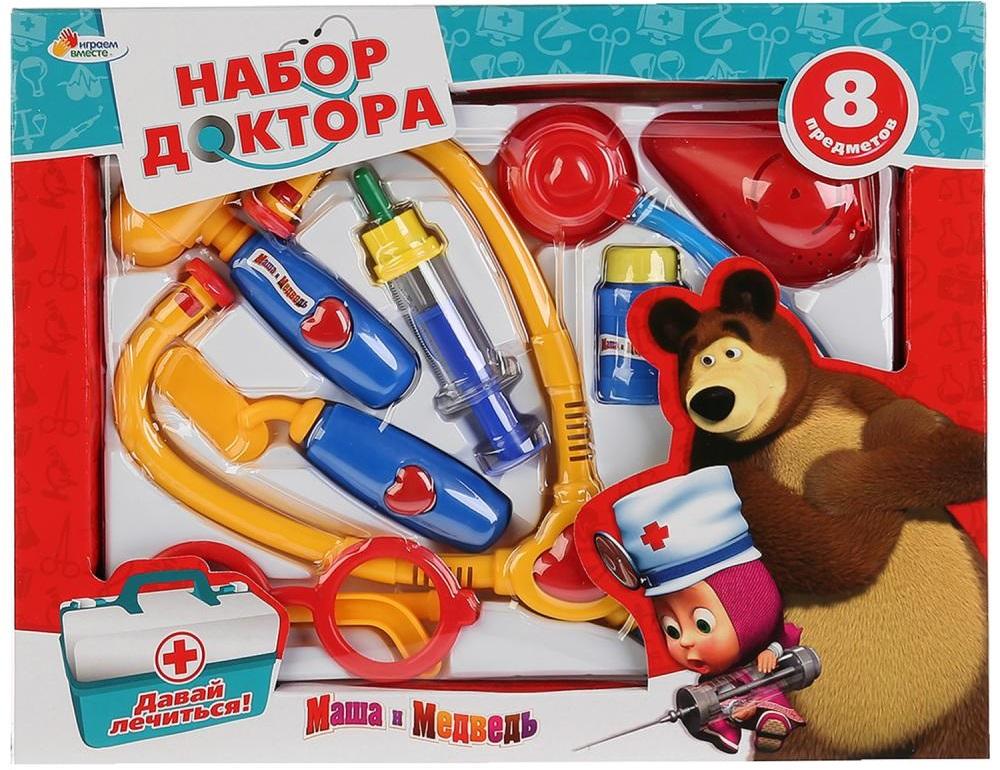 Купить Игровой набор доктора Маша и Медведь, Играем вместе