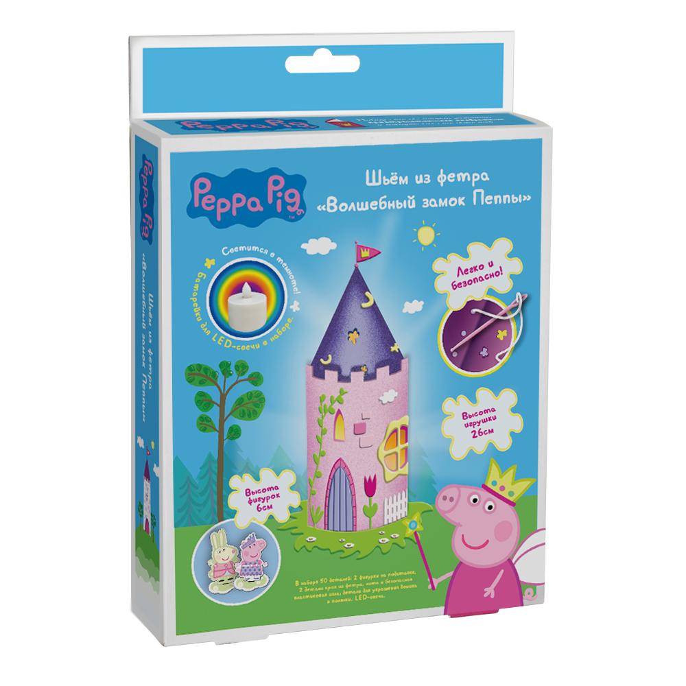Шьем игрушку из фетра – Волшебный замок Пеппы из серии Свинка ПеппаСвинка Пеппа Peppa Pig<br>Шьем игрушку из фетра – Волшебный замок Пеппы из серии Свинка Пеппа<br>