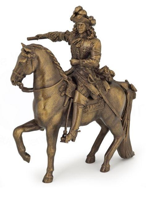 Людовик XIV на коне, цвет бронза - Замки, рыцари, крепости, пираты, артикул: 28889