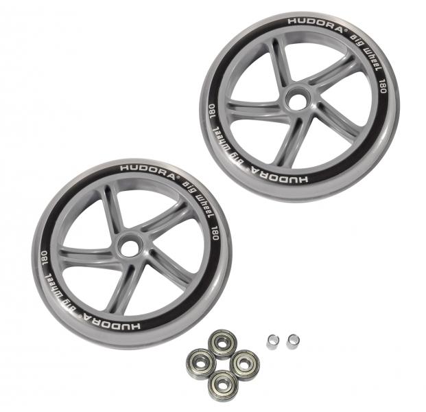 Купить Колеса Big Wheel, 18 см, прозрачные, Hudora