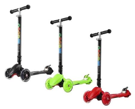 Купить Самокат трехколесный с максимальной нагрузкой до 40 кг, Roing Scooters