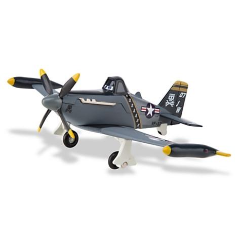 Planes Disney. Коллекционная модель самолета Дасти военно-морской - Самолеты Disney (Planes), артикул: 99682