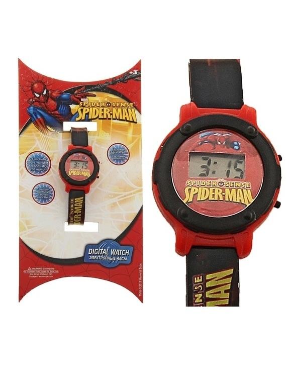 Часы наручные электронные Spider-ManBasicДетские часы<br>Часы наручные электронные Spider-ManBasic<br>