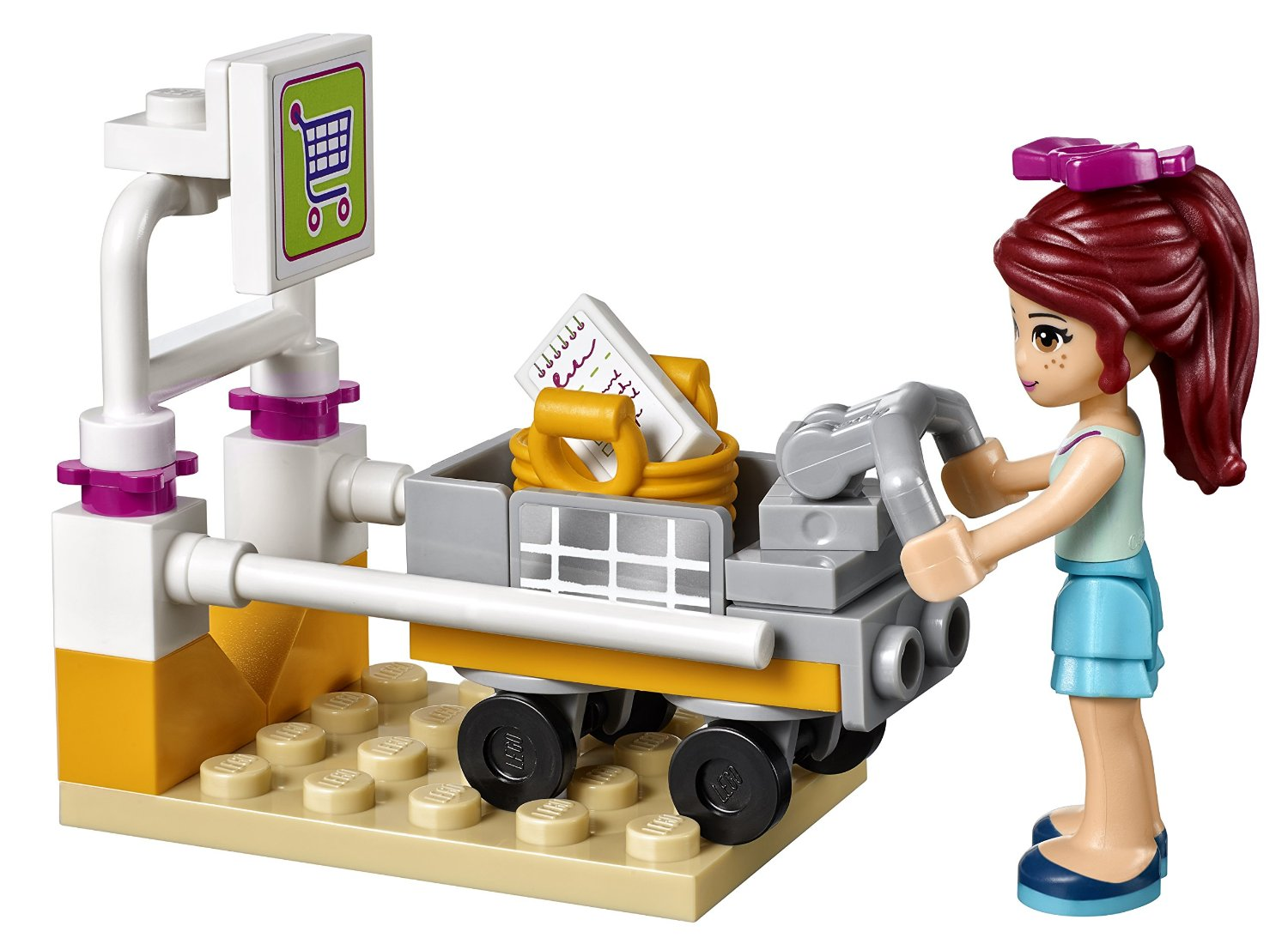 Lego Friends. Супермаркет