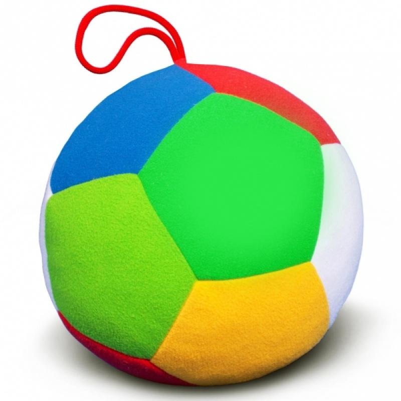 Игрушка мяч большой ФутболДетские погремушки и подвесные игрушки на кроватку<br>Игрушка мяч большой Футбол<br>