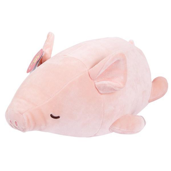 Свинка розовая, 27 см, Teddy  - купить со скидкой