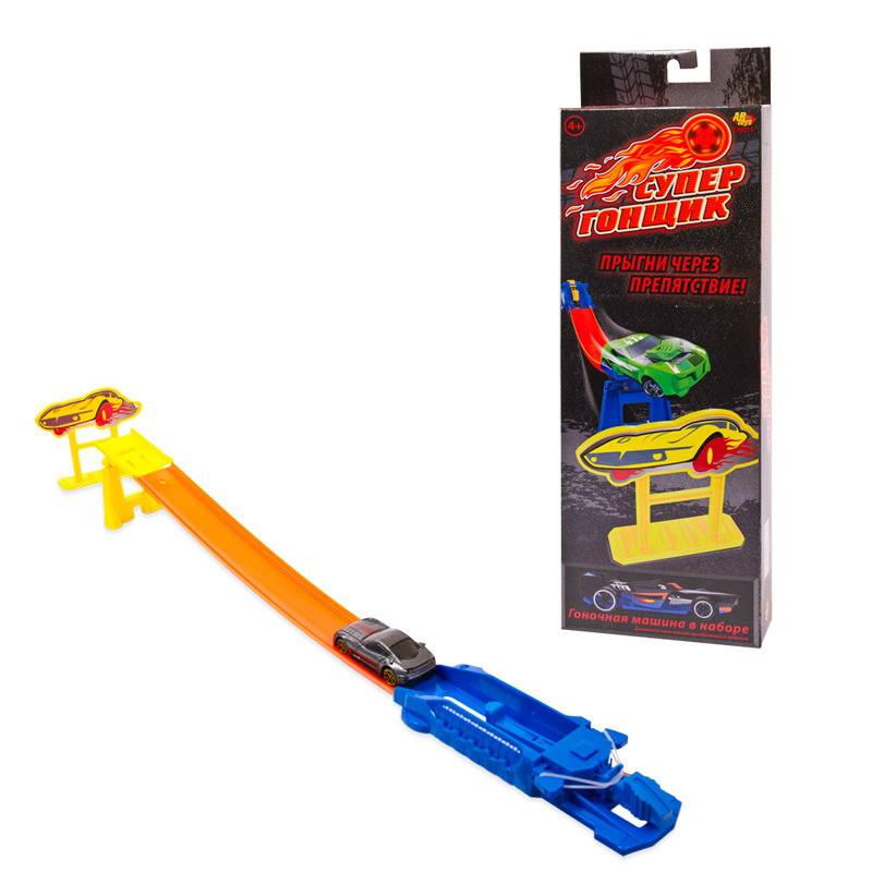 Купить Игровой набор с машинкой - Супер Гонщик: Прыгни через препятствие, ABtoys