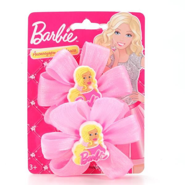 Набор из 2-х резинок для волос «Барби»Юная модница, салон красоты<br>Набор из 2-х резинок для волос «Барби»<br>