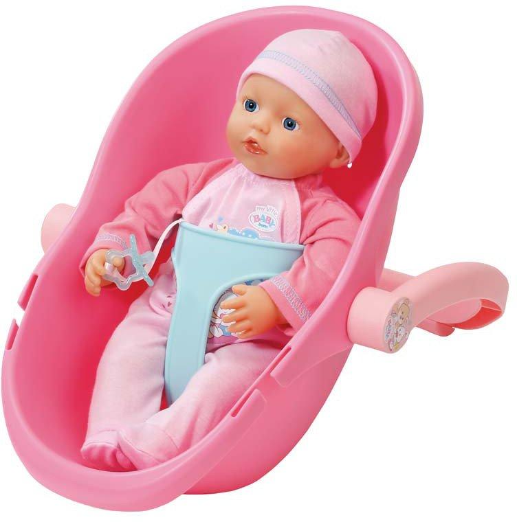 Кукла My Little Baby Born с креслом-переноской, 32 см.Куклы-пупсы Baby Born<br>Кукла My Little Baby Born с креслом-переноской, 32 см.<br>