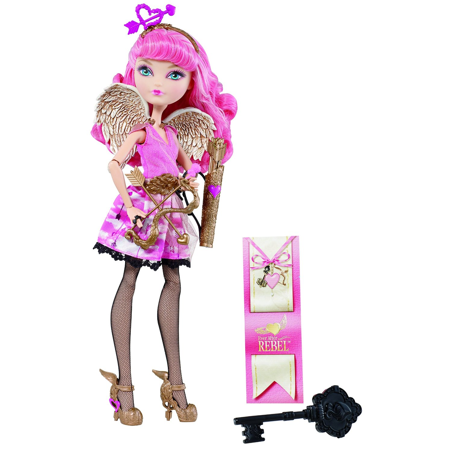 Кукла Ever After High - Rebel Cupid, PuppeКуклы Ever After High и Monster High<br>Кукла Ever After High - Rebel Cupid, Puppe<br>