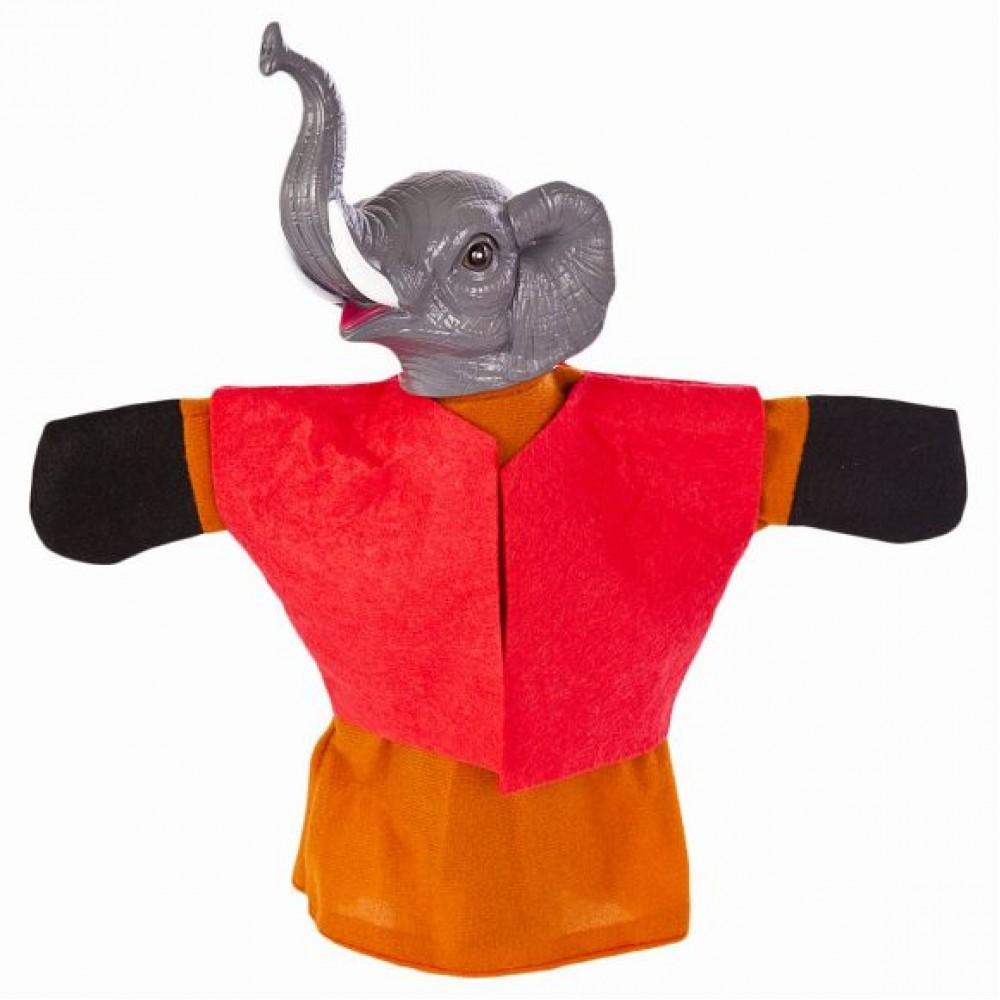 Купить Кукла-перчатка – Слон, Жирафики