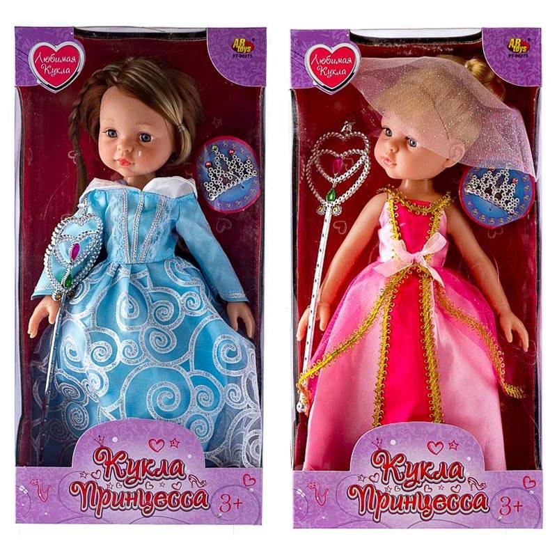 Кукла - Принцесса с аксессуарами, 2 видаПупсы<br>Кукла - Принцесса с аксессуарами, 2 вида<br>