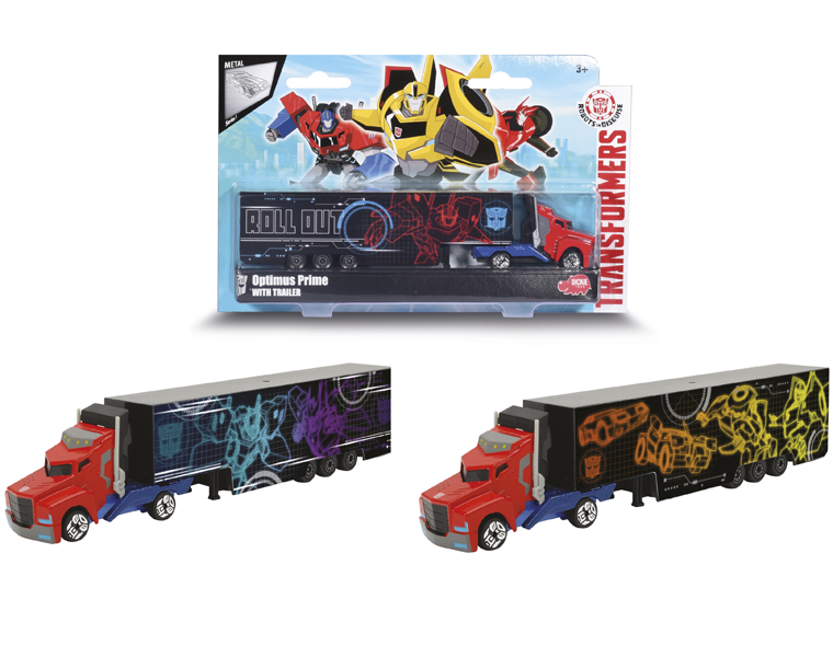 Купить Трейлер Optimus Prime из серии Трансформеры, 20 см., 3 вида, Dickie Toys