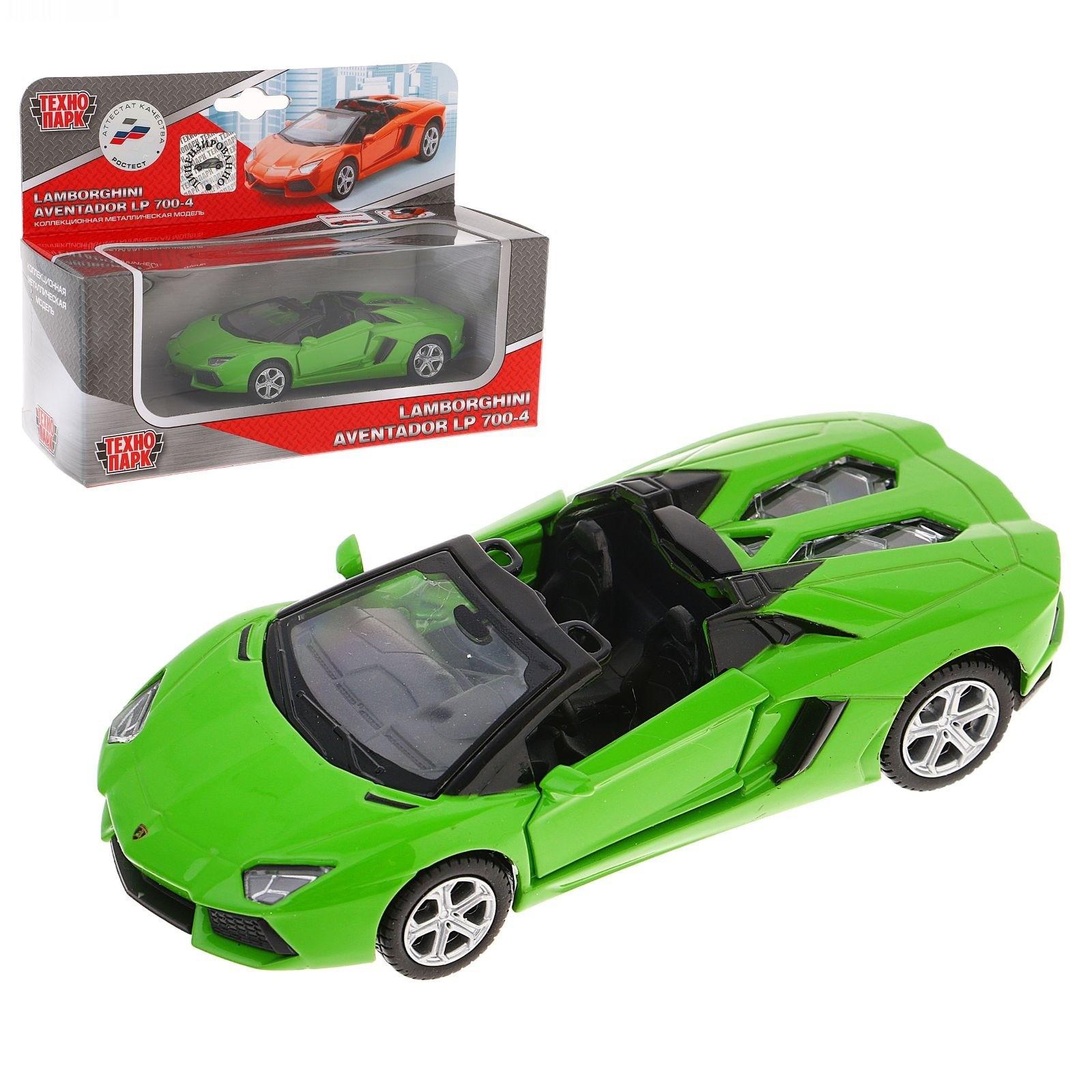 Машина металлическая инерционная - Lamborghini Aventador Lp 700-4 RoadsterLamborghini<br>Машина металлическая инерционная - Lamborghini Aventador Lp 700-4 Roadster<br>