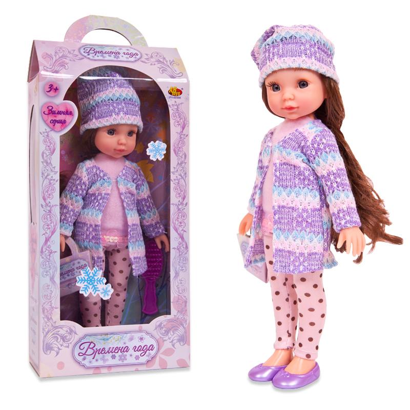 Кукла Времена года, 25 см, 2 видаПупсы<br>Кукла Времена года, 25 см, 2 вида<br>