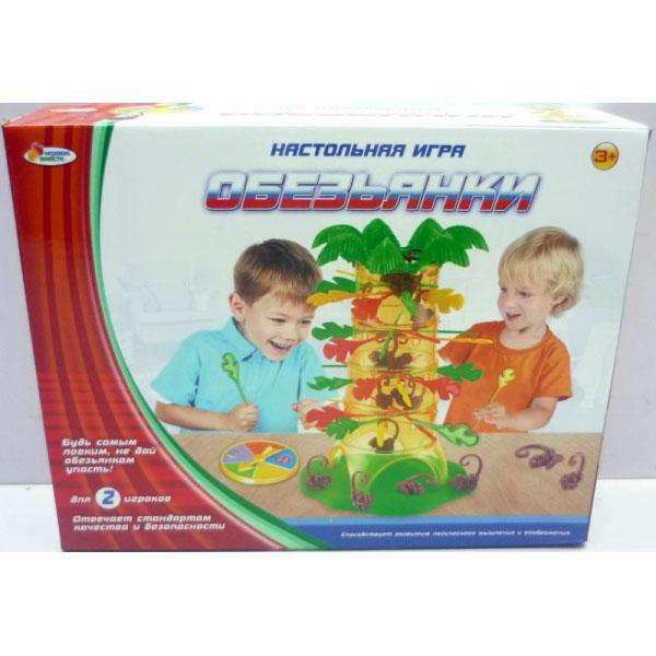 Настольная игра - ОбезьянкиРазвивающие<br>Настольная игра - Обезьянки<br>