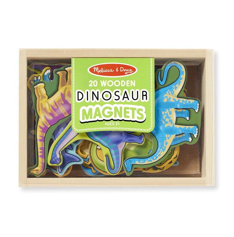 Деревянные магнитные динозавры из серии Магнитные игрыРазное<br>Деревянные магнитные динозавры из серии Магнитные игры<br>