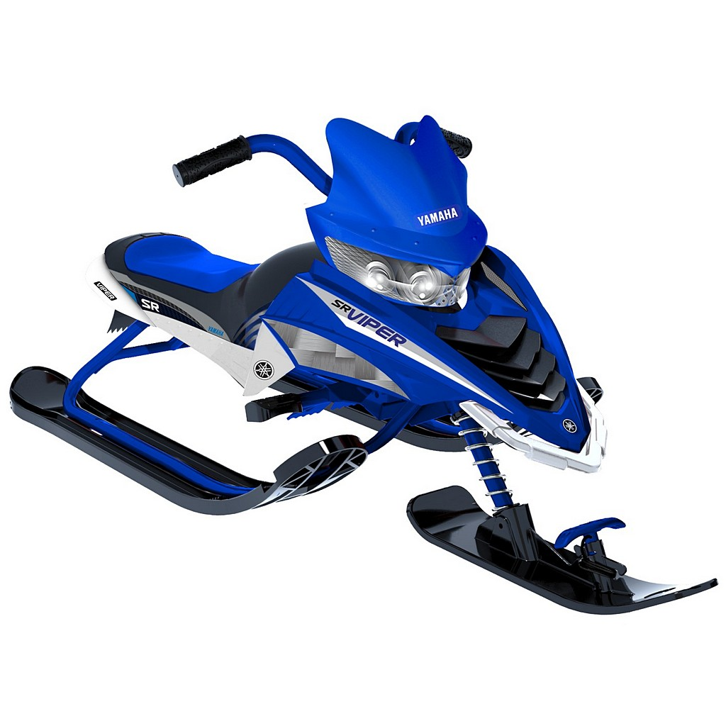 Снегокат - Yamaha Viper Snow Bike, синий