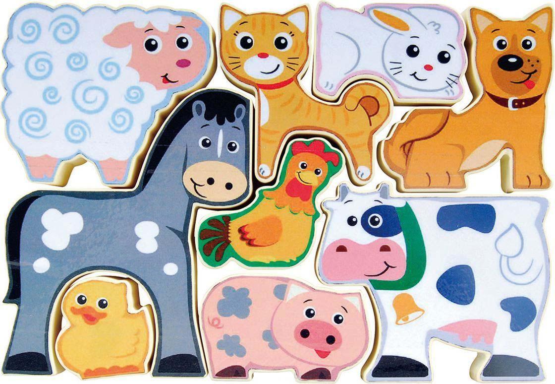 картинка Пазл-головоломка – Домик в деревне от магазина Bebikam.ru