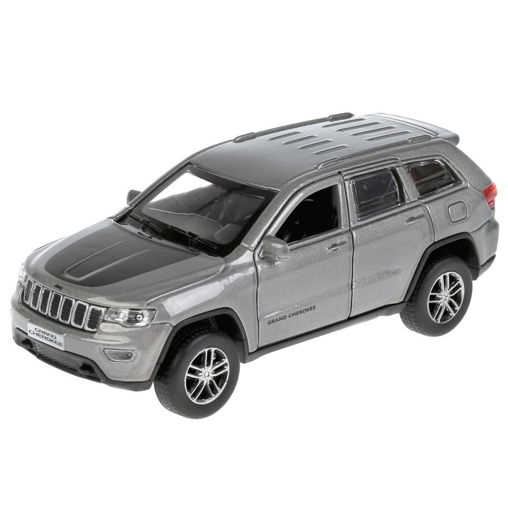 Купить Инерционный металлический Jeep Grand Cherokee, 12 см, цвет серый, Технопарк