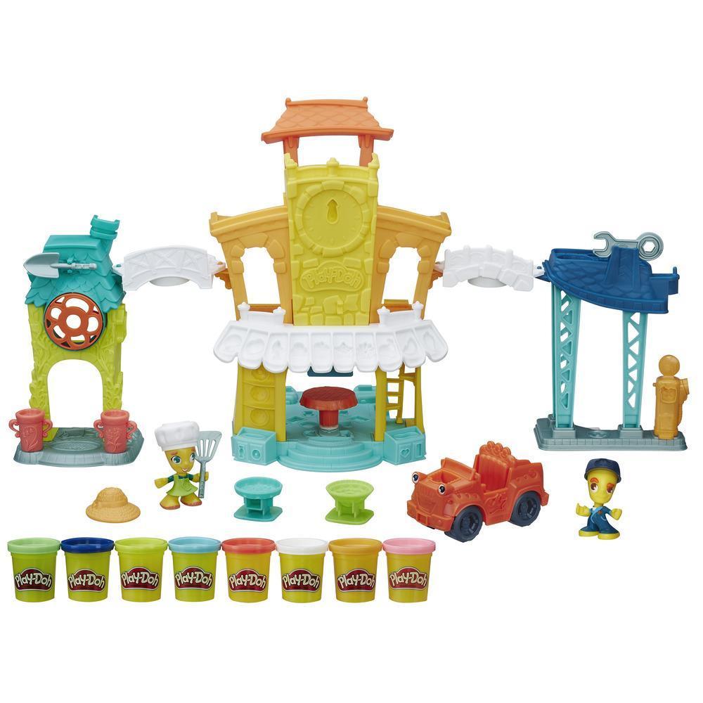 Игровой набор из серии Play-Doh Город - Главная улицаПластилин Play-Doh<br>Игровой набор из серии Play-Doh Город - Главная улица<br>