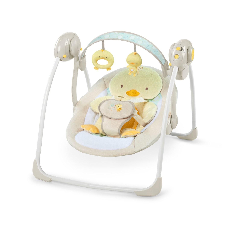 Качели Bright Starts Милые утятаЭлектронные качели для детей<br>Качели Bright Starts Милые утята<br>